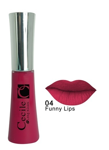 Cecile Long Kisses Lipgloss 06 Bordo